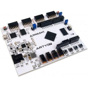 Отладочная плата Arty S7: Arty S7-50 Spartan-7 FPGA Development Board от Digilent - для разработчиков и увлеченных электроникой, микроконтроллерами и техническим творчеством