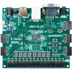 Отладочная плата ПЛИС Nexys A7-50T: FPGA Trainer Board от Digilent - рекомендуется для учебной программы