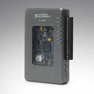 myRIO – контроллер для решения практических инженерных задач. Используется в качестве базовой платформы для построения робототехнических систем по заданиям WorldSkills компетенции «Mobile Robotics»