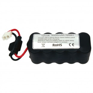 WSR 12V 3,000 mAh NiMH Battery Pack w/20 amp fuse