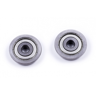 WSR Flange Bearing 6mm(ID)x 22mm(OD) - 2 pack
