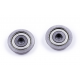 WSR Flange Bearing 6mm(ID)x 22mm(OD) - 2 pack