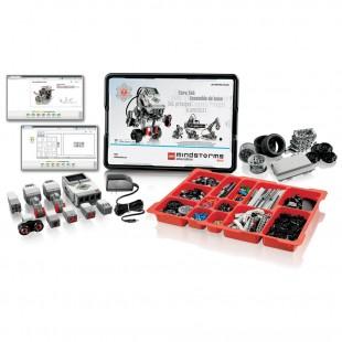 Полный комплект оборудования Lego Mindstorms EV3 для занятий робототехникой одним или двумя учениками