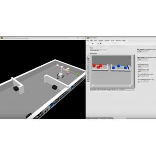 Программное обеспечение Mobile Robot Simulator для LabVIEW – заменит собой физического робота!