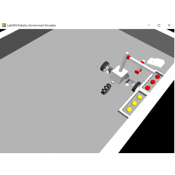 Программное обеспечение Mobile Robot Simulator for LabVIEW by STEM Instruments