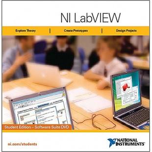 NI LabVIEW Student Edition 2012 (студенческая версия!)